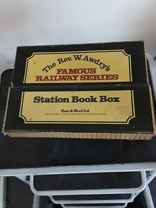 The Rev. W. Awdry's Famous Railway Series Station Book Box