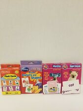 Lot Of 4 Disney Winnie the Pooh Colors and Shapes, Fisher Price Alphabet, A+.