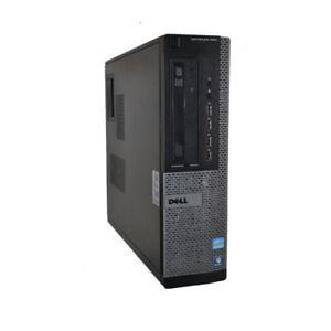 Dell Optiplex 990 Desktop PC Intel i7-2600@3.4GHz CPU 4 or 8GB RAM 1TB HDD WIN 7