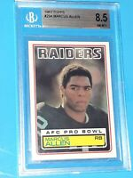 1983 Marcus Allen Topps #294 Rookie Card Beckett 8.5 NM/MINT RC PSA Comp Invest