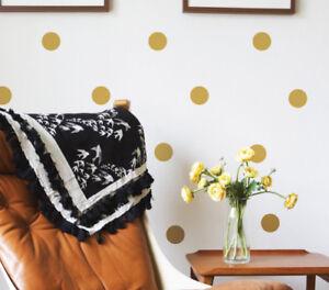 Polka Dots Circle Spots Kids Wall Sticker Nursery Kids Home  MS136VC-Polka