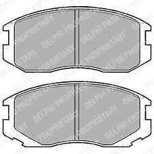Delphi Front Brake Pad Set LP1594 - BRAND NEW - GENUINE - 5 YEAR WARRANTY
