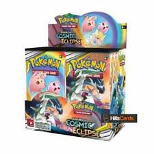 Pokemon TCG Sun & Moon Cosmic Eclipse Sealed Booster Box of 36 Packs SM-12 Cards