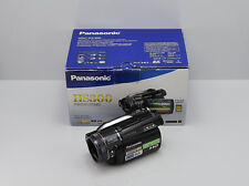 PANASONIC HDC-HS300 HD CAMCORDER BOXED 120GB HDD / CARD DIGITAL HIGH DEFINITION