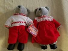 Boy and Girl Kensington Bear Set Nwt