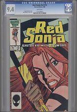 Red Sonja V3 #13 CGC 9.4 1985  Marvel Barbarian Comic