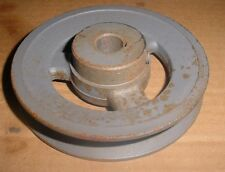 "BROWNING PULLEY BK50 X 5/8 FINISHED BORE SHEAVE 1 GROVE 4-3/4"" OD PULLEYS"