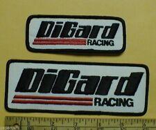 DiGard NASCAR Winston Racing jacket Patch NEW 1980s vintage lot x2 Bobby Allison