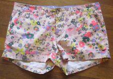 "JOHNNIE B Juniors Women's Shorts Floral Sz. 6 (28"" waist)"