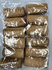 """Package of 12 Real Wine Corks Used """"Decoy"""""""