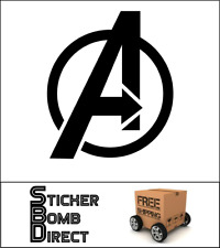 The Avengers Decal Sticker Marvel JDM Captain America Thor Hulk SHIELD 2012 DC
