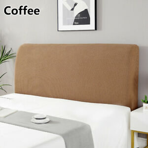 New Elastic Bedhead Cover Headboard Bed Head Velvet Protection Cover
