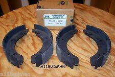 76-77 Capri V6 Rear Brake Shoes D6RY-2200-AX Bonded Relined by a Ford Rebuilder