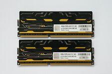 16GB (2x8GB) AVEXIR Blitz DDR3 Memory 2400MHz CL10 PC3-17060 AVD3U24001008G-2  1