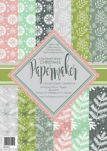 Papermaker Paper Pad Christmas Contemporary by Craftstyle FREE P&P