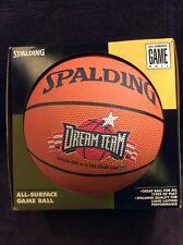 Michael Jordan 1990's Dream Team Usa Spalding Basketball Vintage New Old Stock