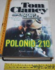 CLANCY Tom - POLONIO 210 - Rizzoli 1a edizione 2007 - libri usati