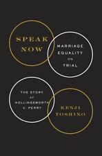 Speak Now: Marriage Equality on Trial, Yoshino, Kenji, Good Condition, Book