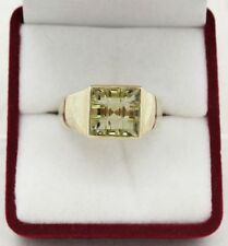 Birthday Signet Natural Yellow Gold Fine Rings