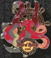 Hard Rock Cafe MYRTLE BEACH 2016 21st Anniversary PIN Wheel Anchor & Octopus!