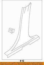 FORD OEM 14-17 Fiesta Interior-Front Sill Plate DE8Z54132A08C
