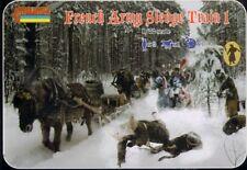 Strelets 1/72 French Army Sledge Train 1 # 133