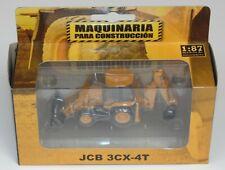 JCB3CX-4T  RETRO EXCAVATOR 1:87 DIECAST COLOMBIA
