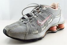 Nike Shox  Running Shoes Silver Synthetic Women7Medium (B, M)