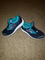 Women's BROOKS ADDICTION 13 Athletic Running Shoes Purple Teal Size 8.5 Wide (D)