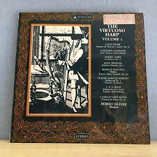 HUBERT JELINEK  The Virtuoso Harp Vanguard UK vinyl LP EXCELLENT CONDITION