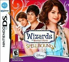 BRAND NEW Nintendo DS Disney Wizards of Waverly Place Spellbound Selena Gomez