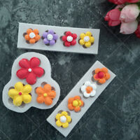 3D Flower Silicone Fondant Mold Chocolate Mould Cake Baking Decorating Tool