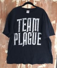 Winds of Plague T shirt. Team Plague.  Size XL. Vampires Are F..ing Stupid Tour
