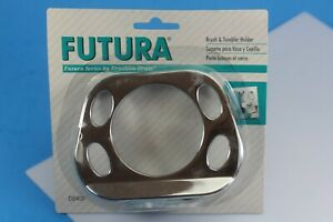 Futura Series By Franklin Brass Brush And Tumbler Holder. #D2405. New!