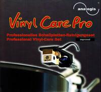 """Analogis Vinyl Care Pro """"Improved"""" Schallplatten-Reinigungsset >Plus Version<NEW"""