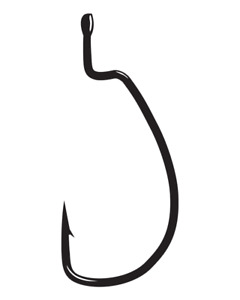 Gamakatsu EWG Offset Monster Worm Hook Bass Fishing Soft Plastic Bait Hook