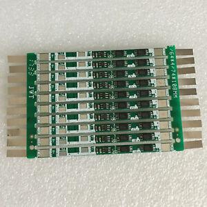 10pc 4A PCB PCM 1S18650 Li-ion Li polymer battery protection circuit board