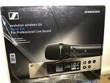 Sennheiser EW135 G4 Wireless Handheld Microphone System E835 UPC 615104308732