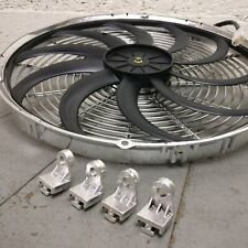 1995 Chevrolet S10 16 Inch Chrome Radiator Fan cooling electric 3000cfm