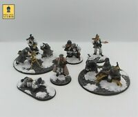 28mm Bolt Action Winter German Support Squad - Painted by RBStudio