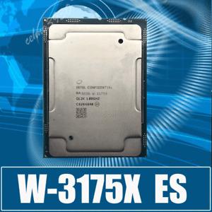 Xeon W-3175X ES 26 core 52 threads 1.8 GHz-3.2GHz LGA3647 CPU processor