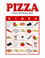 ANY Themed Bingo Personalized Birthday Party or Event Game Activity Bingo Cards