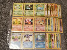 Pokemon Complete Original 151 Set w/EVERY HOLO, Shadowless, +1st Edition *BEST*!