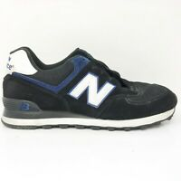 New Balance Mens 574 Classics M574KBS Black Running Shoes Lace Up Low Top 9.5 D