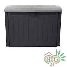 Keter Gartenbox Fahrradbox Mehrzweckschrank Gerätebox Kiste Mülltonnenbox NEU