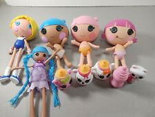 lalaloopsy mini Doll Lot And More Diaper Surprise 10pcs total