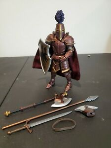 "Mythic Legions Four Horsemen Sir Galeron Knight Action figure 6"" Medieval"