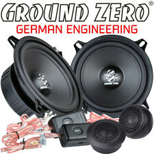 Ground Zero GZIC 13X 13cm 2 Wege Kompo Lautsprecher Set 130mm Compo Speaker