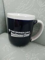 Time Warner Cable Business Class Coffee Cup Mug, Navy & White