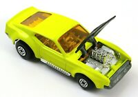 Matchbox Superfast No. 44 Boss Mustang, Yellow, Excellent, 1972